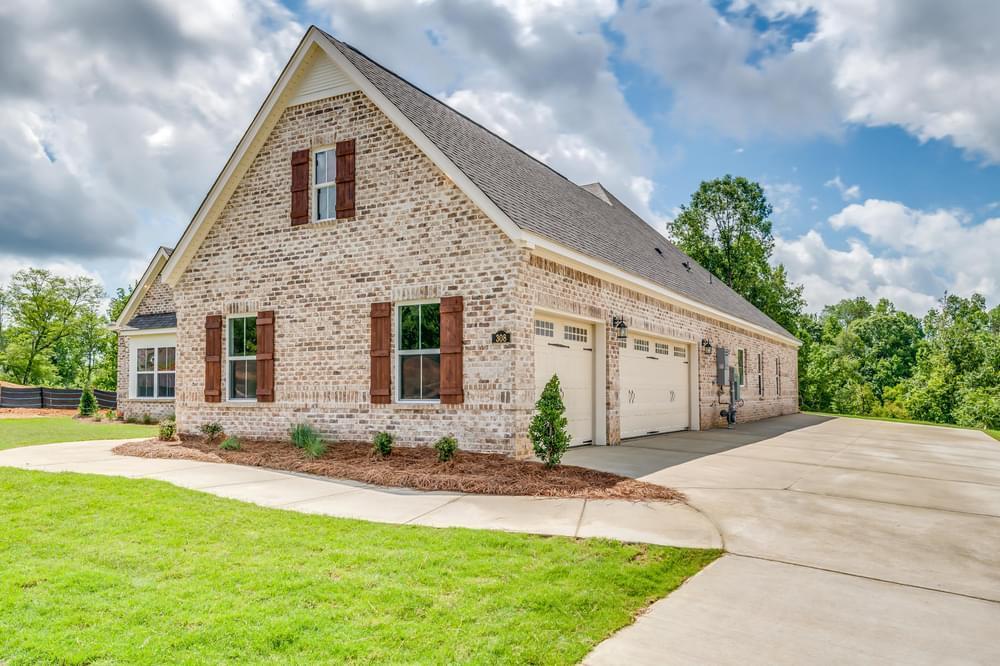 Exterior featured in the Morningside II By Stone Martin Builders in Auburn-Opelika, AL