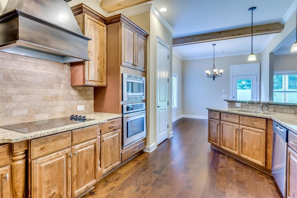 Kitchen featured in the Montclair By Stone Martin Builders in Huntsville, AL