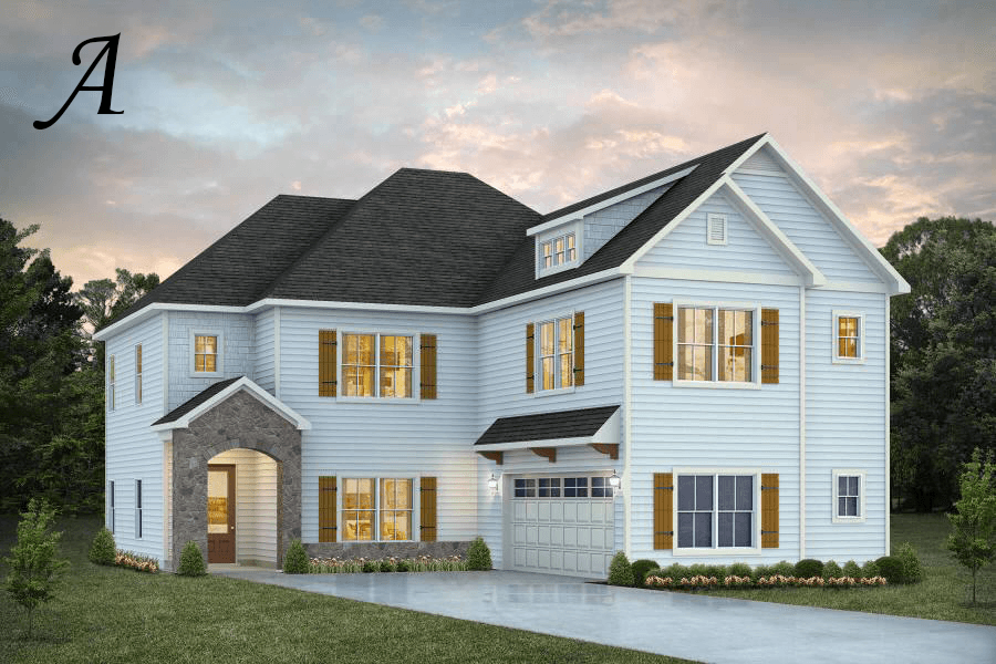 Exterior featured in the Deerfield By Stone Martin Builders in Dothan, AL