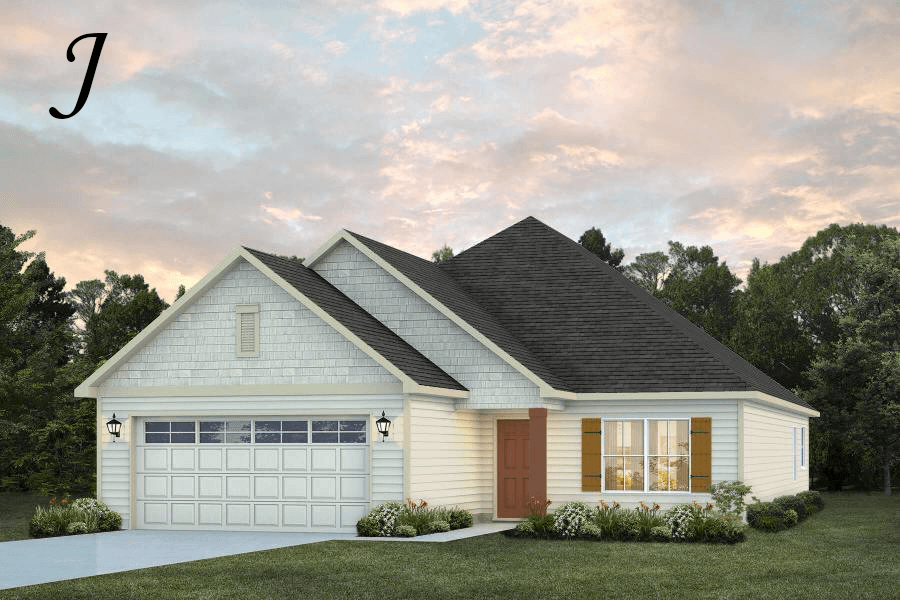 Exterior featured in the Kinkade By Stone Martin Builders in Dothan, AL