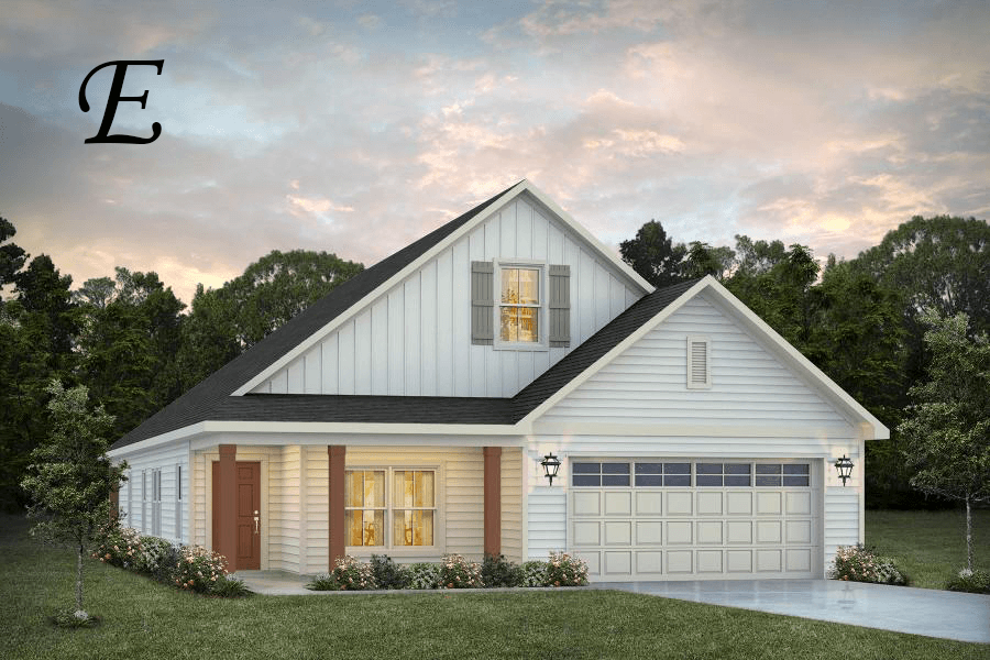 Exterior featured in the Oakley By Stone Martin Builders in Dothan, AL