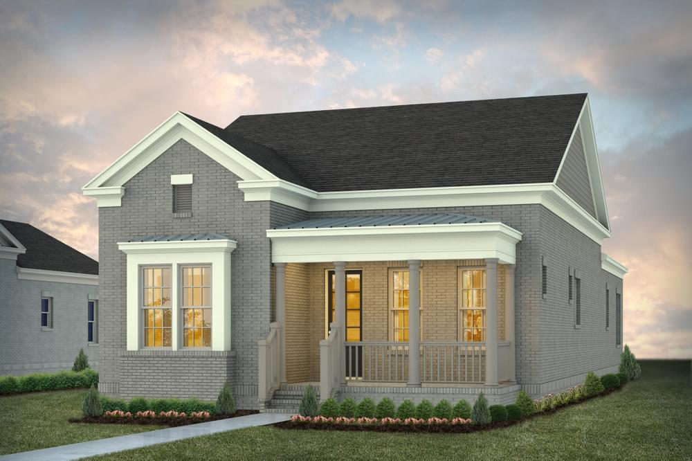 Exterior featured in the Danbury D (Lot 95) By Stone Martin Builders in Huntsville, AL