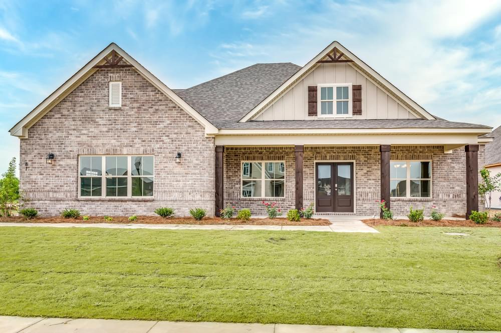 Exterior featured in the Dogwood II By Stone Martin Builders in Montgomery, AL