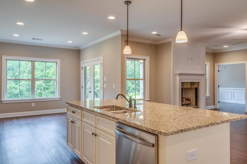 Kitchen featured in the Newcastle II By Stone Martin Builders in Montgomery, AL