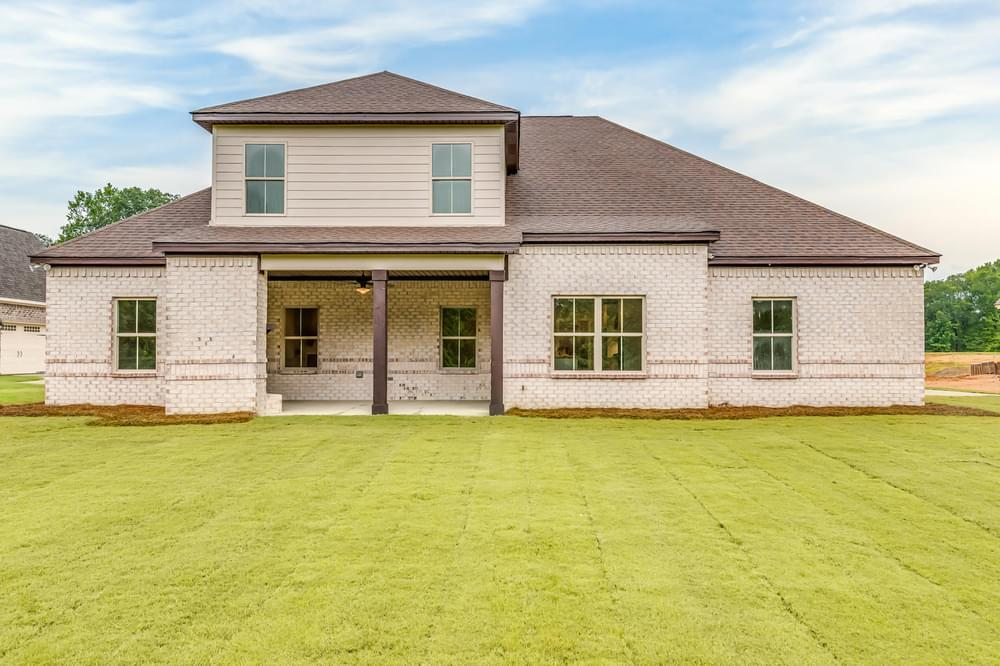 Exterior featured in the Newcastle II By Stone Martin Builders in Montgomery, AL