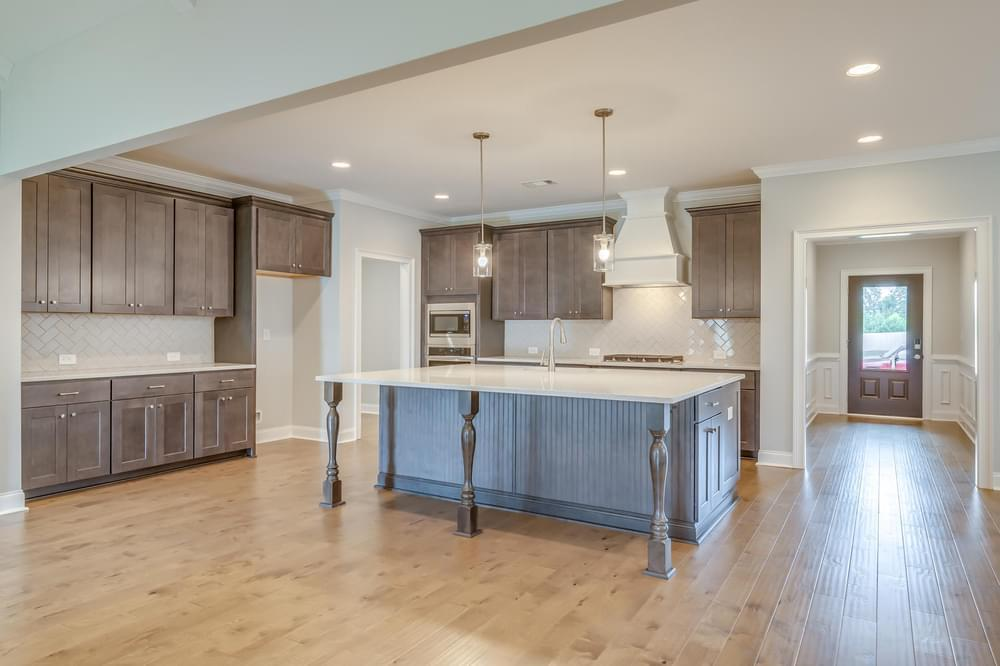 Kitchen featured in the St James By Stone Martin Builders in Montgomery, AL