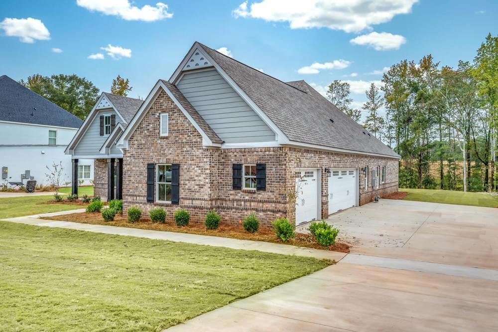 Exterior featured in the Fairhope II By Stone Martin Builders in Montgomery, AL