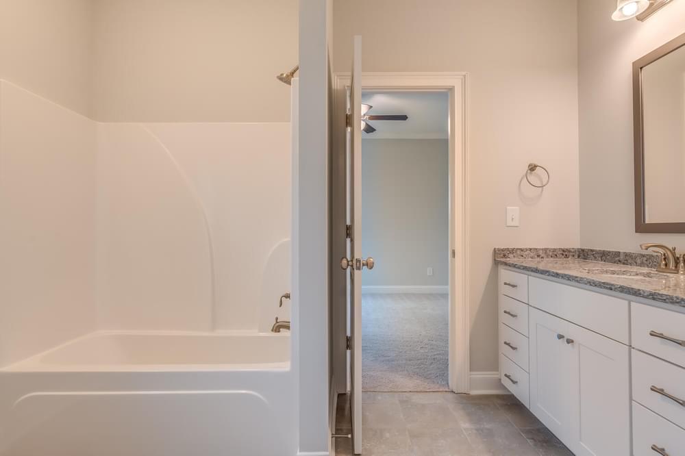 Bathroom featured in the Fairhope II By Stone Martin Builders in Montgomery, AL