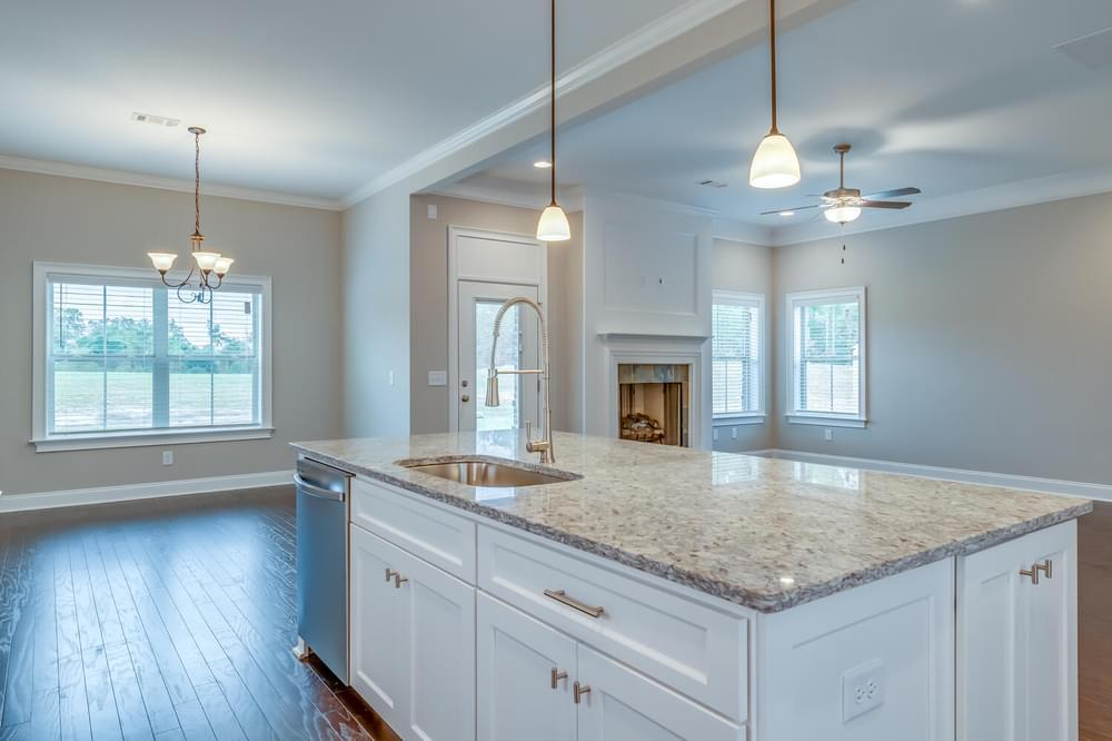 Kitchen featured in the Ellington By Stone Martin Builders in Dothan, AL