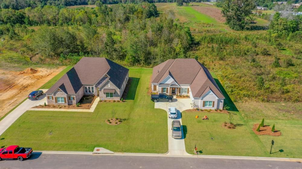 'Kamden's Cove' by Stone Martin Builders in Montgomery