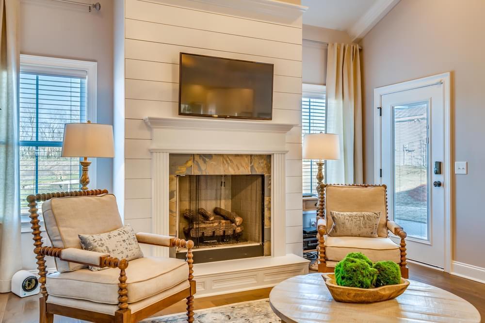Living Area featured in the Alexandria II By Stone Martin Builders in Huntsville, AL