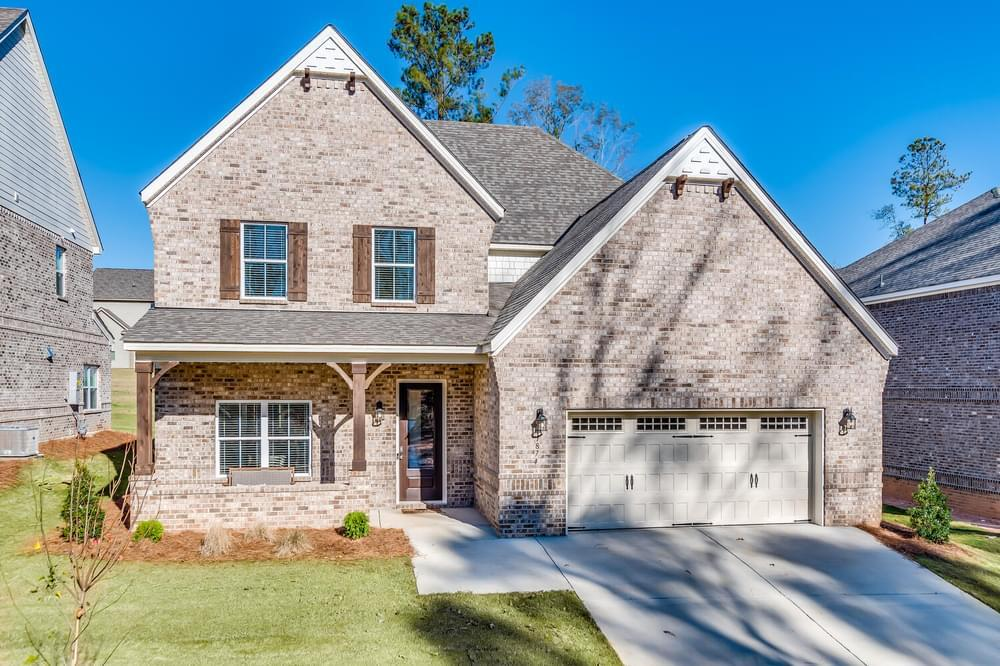 Exterior featured in the Endsleigh By Stone Martin Builders in Auburn-Opelika, AL