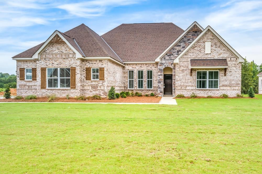 Exterior featured in the Lakewood By Stone Martin Builders in Huntsville, AL