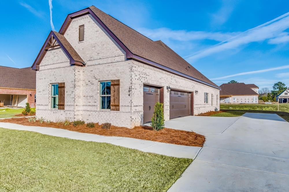 Exterior featured in the Huntington By Stone Martin Builders in Dothan, AL
