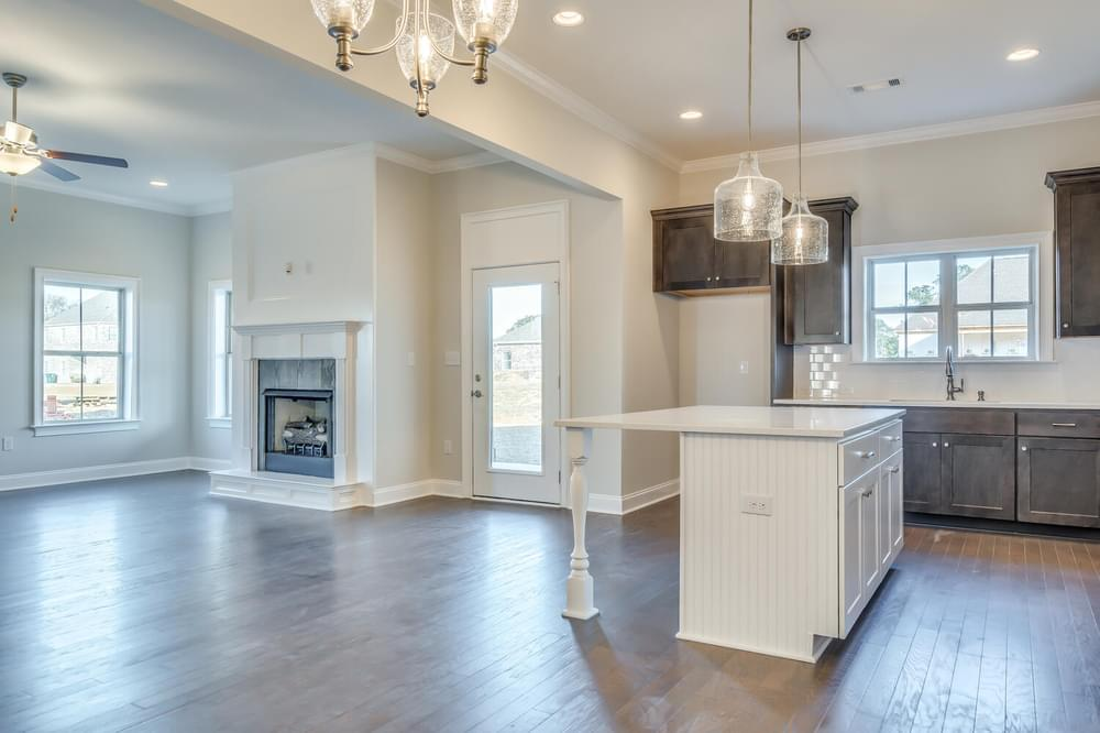 Kitchen featured in the Huntington By Stone Martin Builders in Dothan, AL