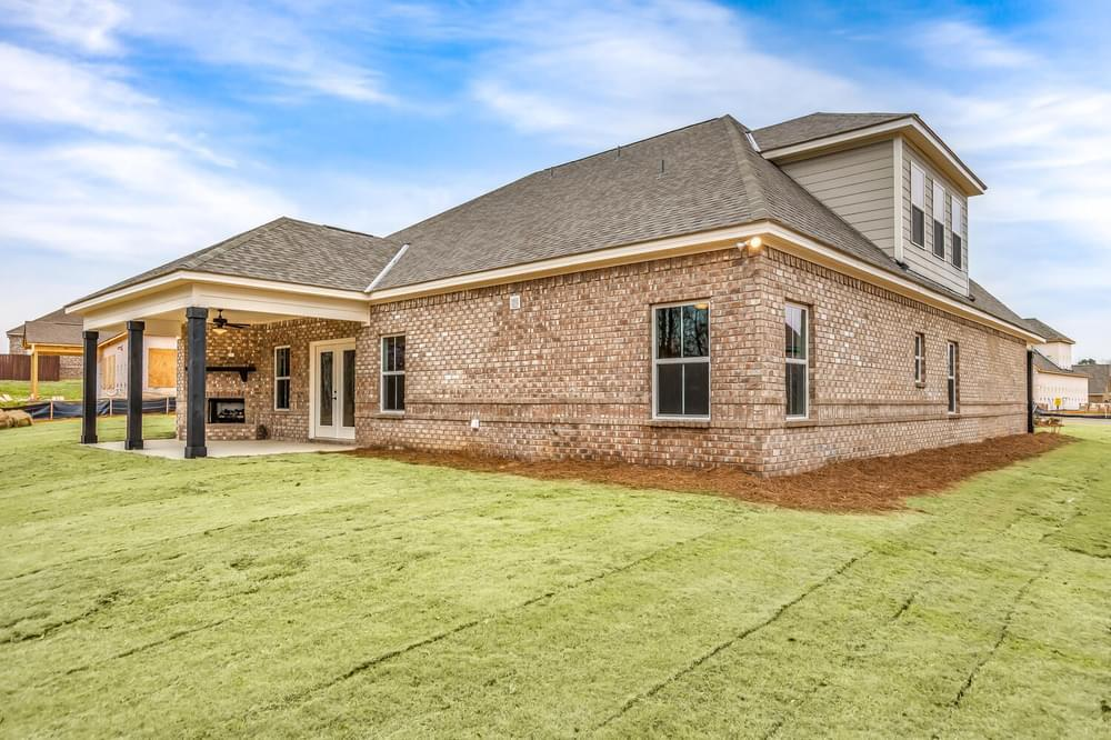 Exterior featured in the Bainbridge II By Stone Martin Builders in Dothan, AL