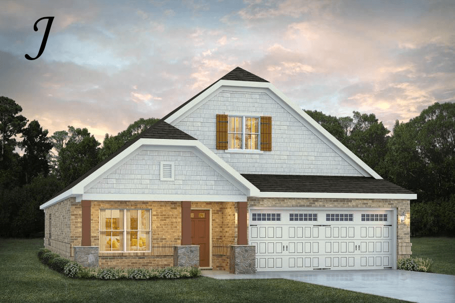 Exterior featured in the Kendrick By Stone Martin Builders in Dothan, AL