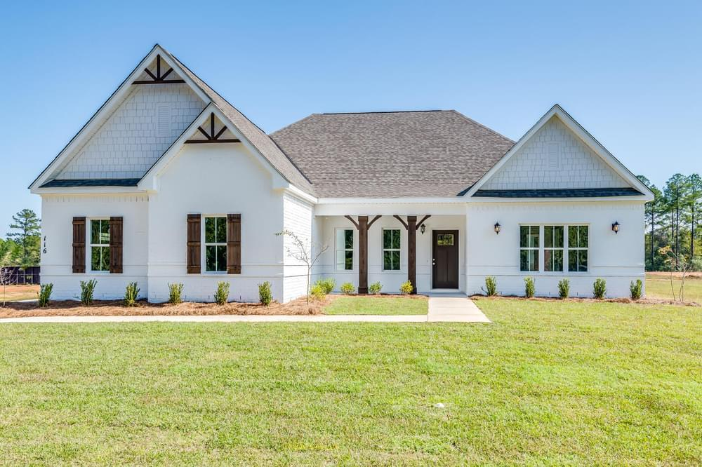 Exterior featured in the Lakewood II By Stone Martin Builders in Columbus, GA