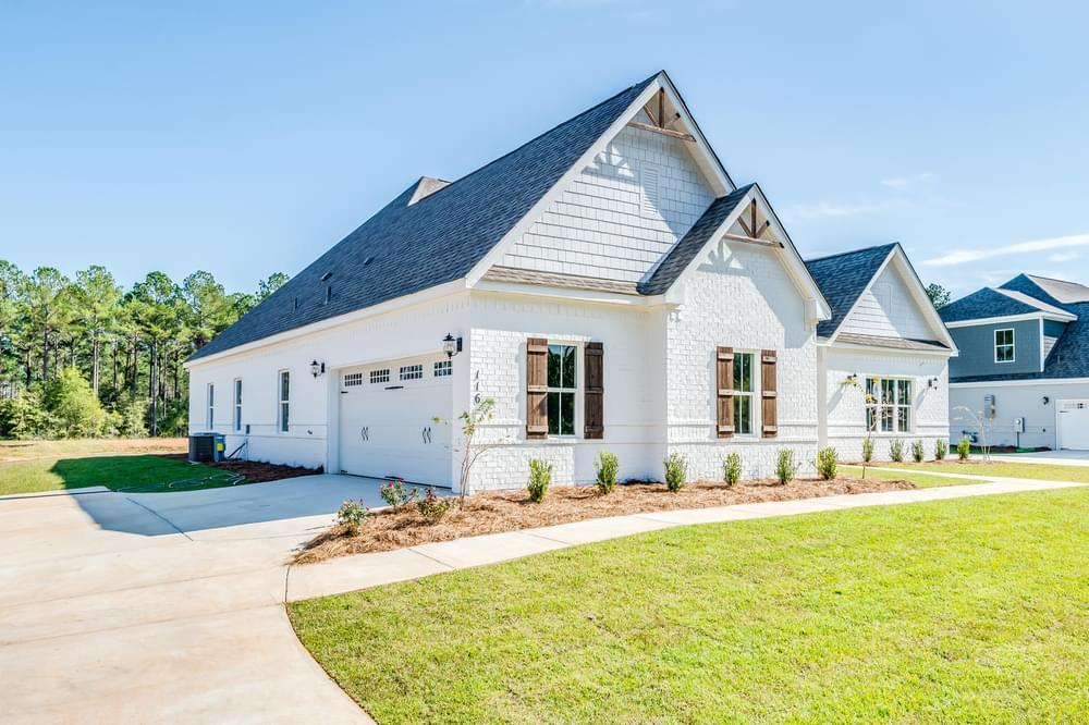 Exterior featured in the Lakewood II By Stone Martin Builders in Dothan, AL