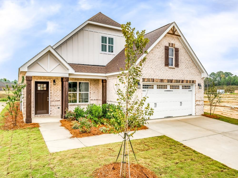 Exterior featured in the Bridgeport By Stone Martin Builders in Montgomery, AL