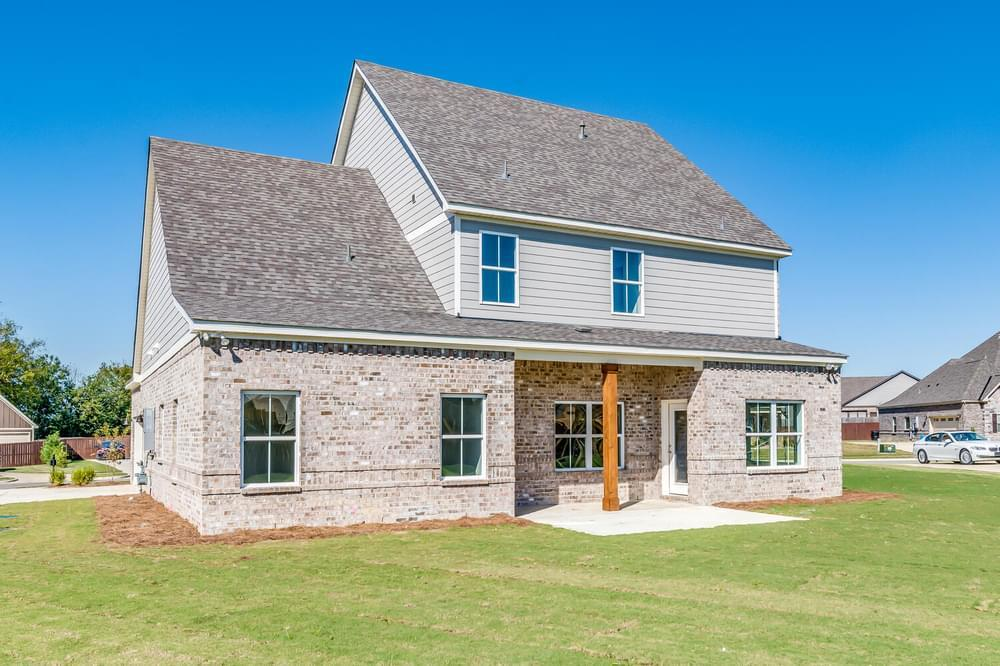 Exterior featured in the Brunswick By Stone Martin Builders in Montgomery, AL