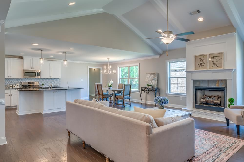 Living Area featured in the Kinkade By Stone Martin Builders in Montgomery, AL