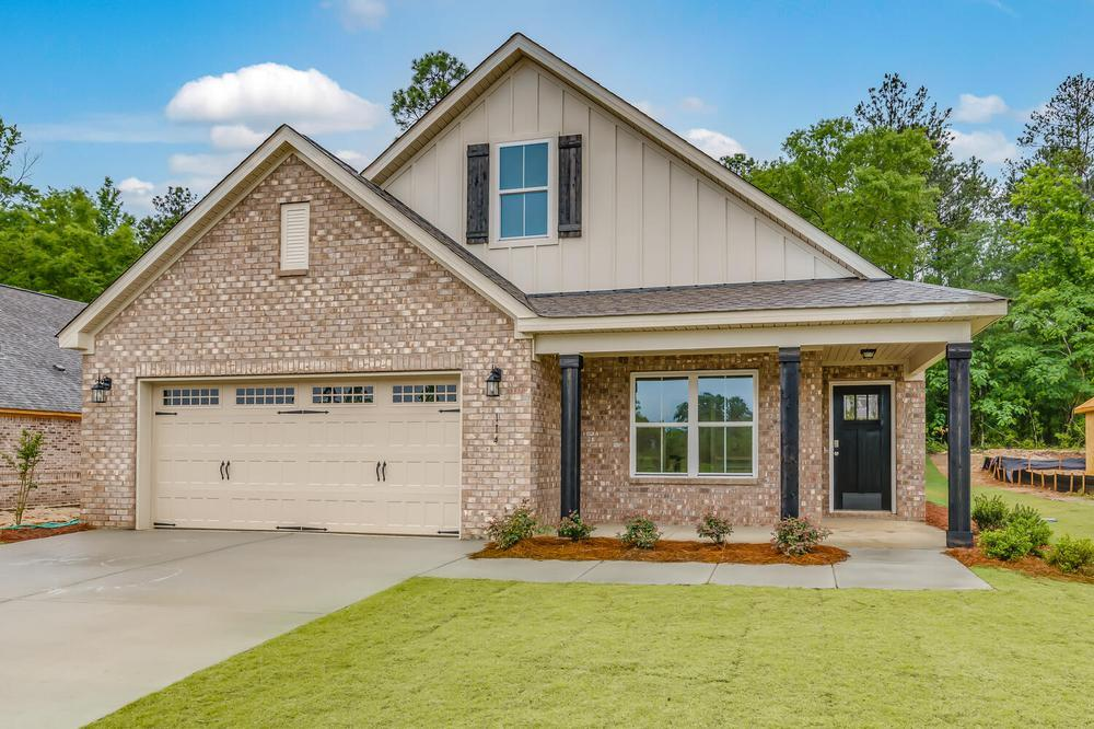 Exterior featured in the Oakley By Stone Martin Builders in Montgomery, AL