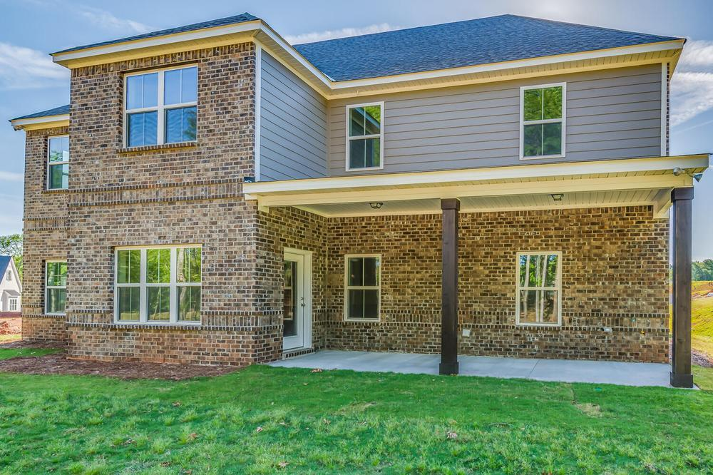 Exterior featured in the Highland By Stone Martin Builders in Montgomery, AL