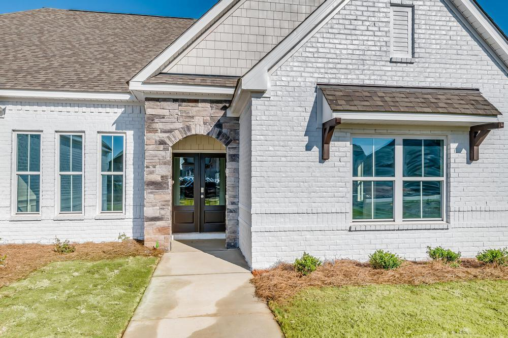 Exterior featured in the Newcastle By Stone Martin Builders in Columbus, GA