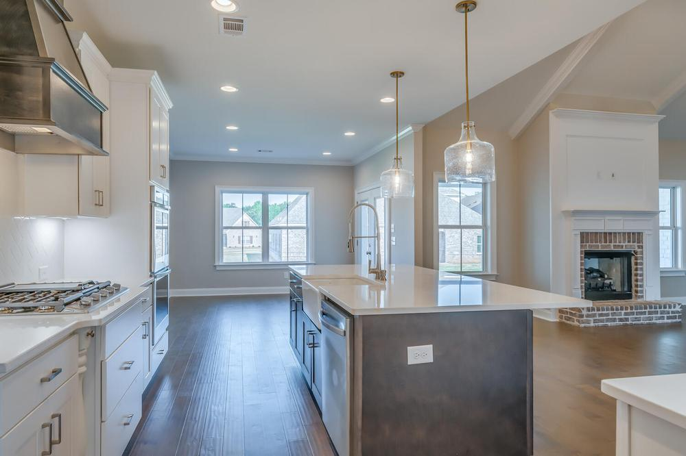 Kitchen featured in the Newcastle By Stone Martin Builders in Columbus, GA