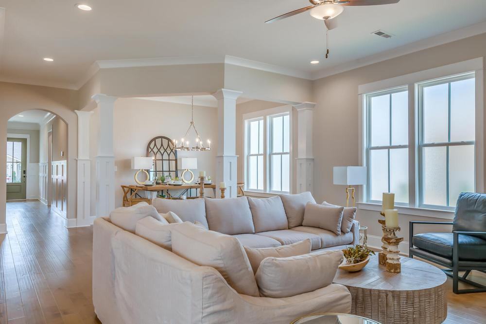 Living Area featured in the Danbury G By Stone Martin Builders in Huntsville, AL