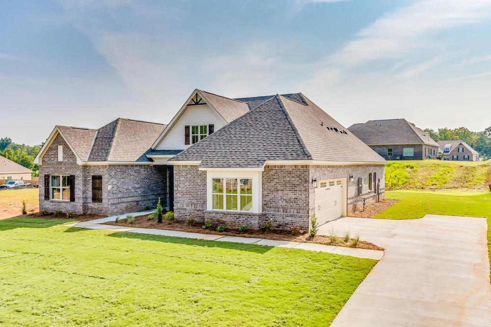 Exterior featured in the Melbourne By Stone Martin Builders in Columbus, GA
