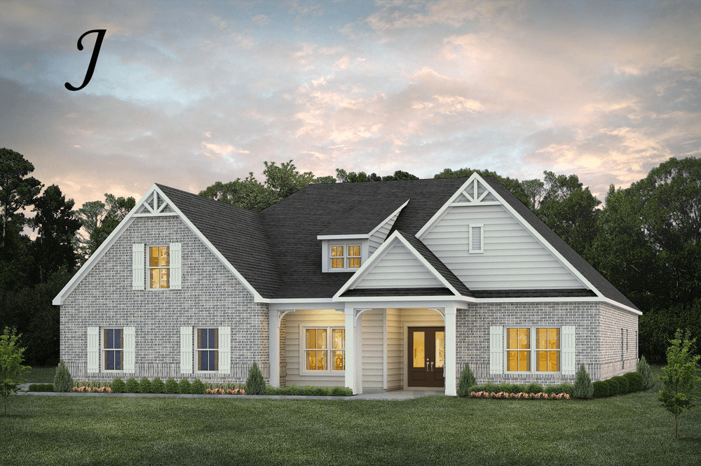 Exterior featured in the Bainbridge By Stone Martin Builders in Montgomery, AL