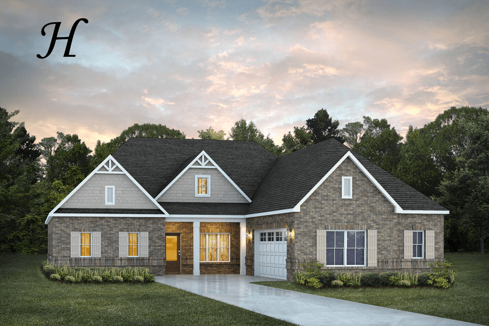 Exterior featured in the Chatsworth II By Stone Martin Builders in Montgomery, AL