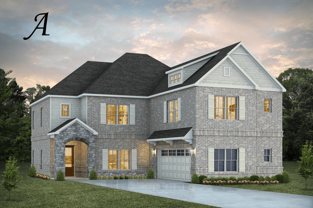 Exterior featured in the Deerfield By Stone Martin Builders in Columbus, GA