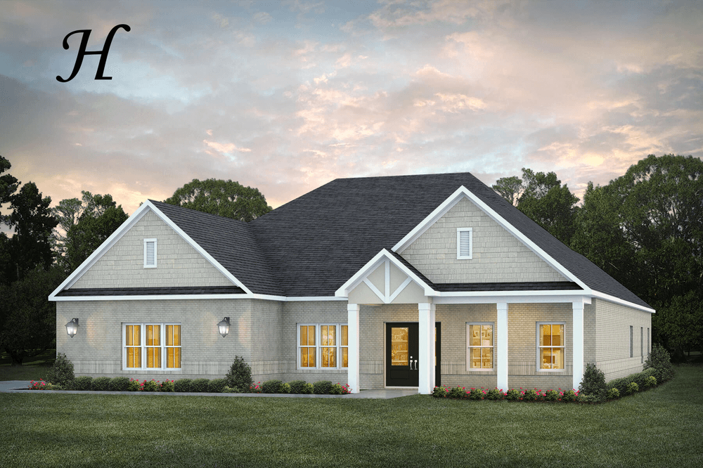 Exterior featured in the Dogwood By Stone Martin Builders in Montgomery, AL