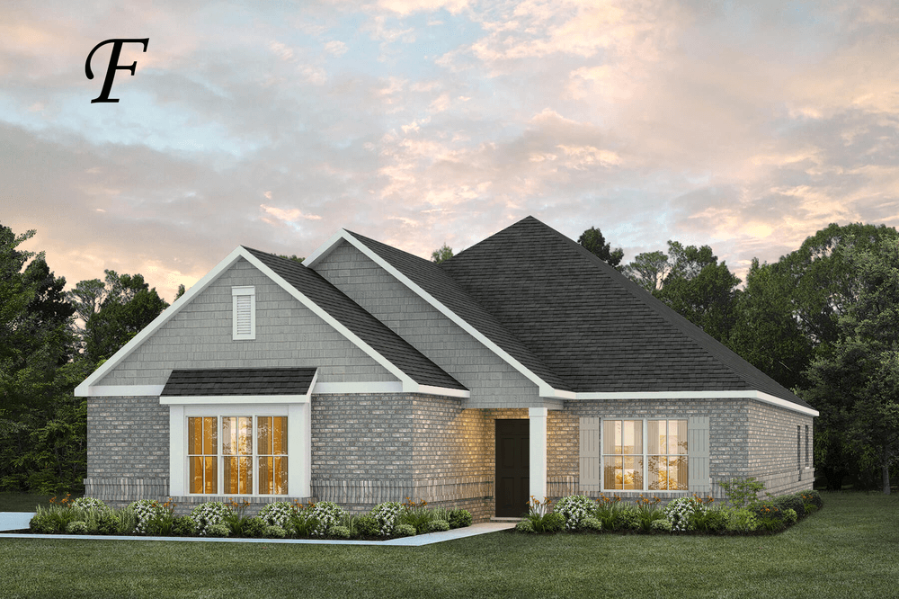 Exterior featured in the Kinkade By Stone Martin Builders in Montgomery, AL