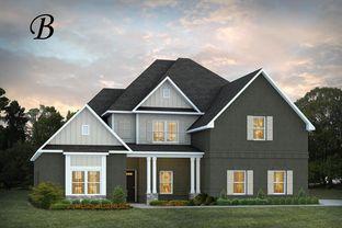 Kensington - Cannongate: Opelika, Georgia - Stone Martin Builders