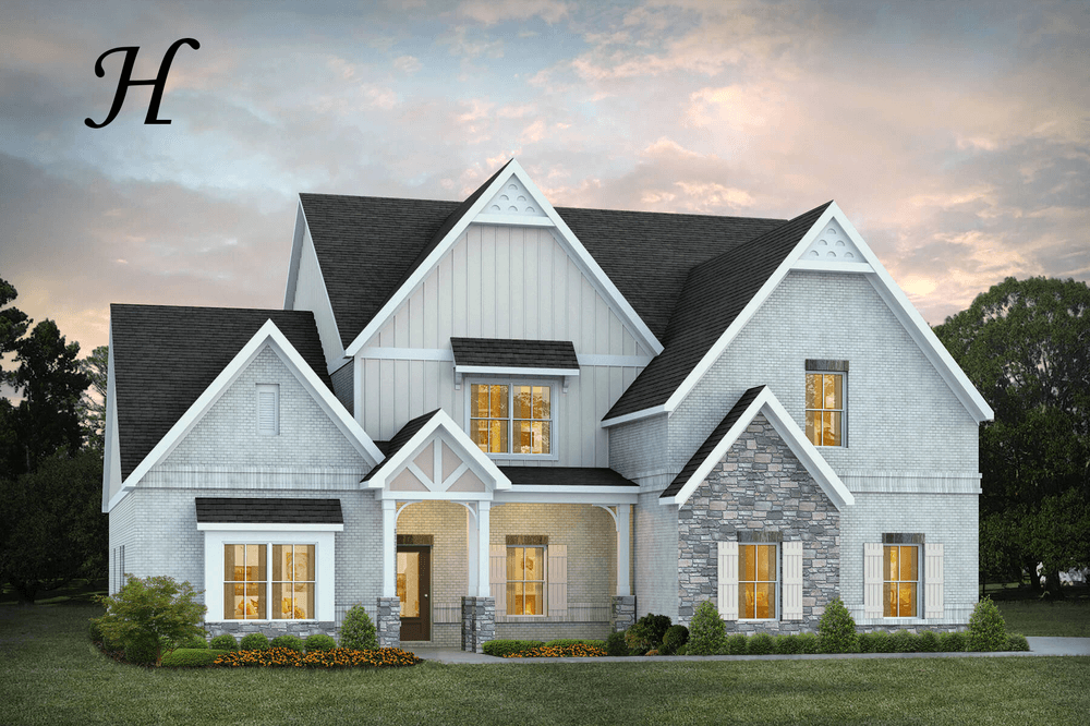 Exterior featured in the Kensington By Stone Martin Builders in Auburn-Opelika, AL