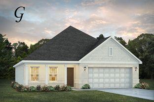 Kendrick III - Chase Ridge: Dothan, Alabama - Stone Martin Builders