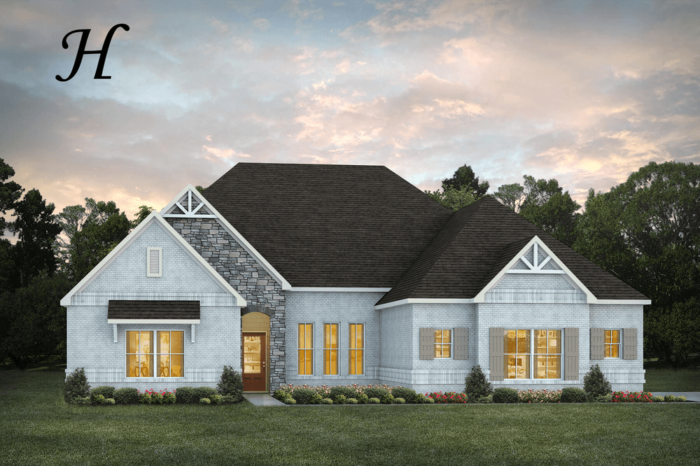 Exterior featured in the Lakewood By Stone Martin Builders in Montgomery, AL