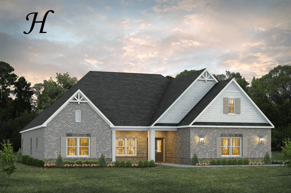 Exterior featured in the Morningside By Stone Martin Builders in Montgomery, AL