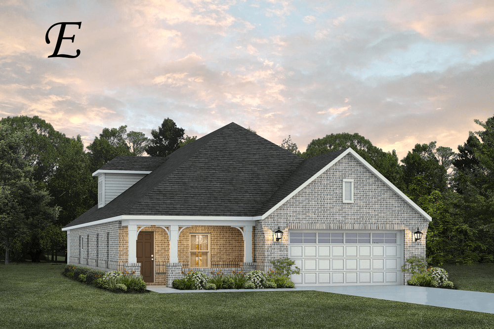 Exterior featured in the Overton By Stone Martin Builders in Montgomery, AL