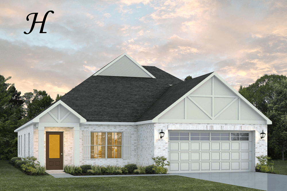 Exterior featured in the Sherfield By Stone Martin Builders in Montgomery, AL
