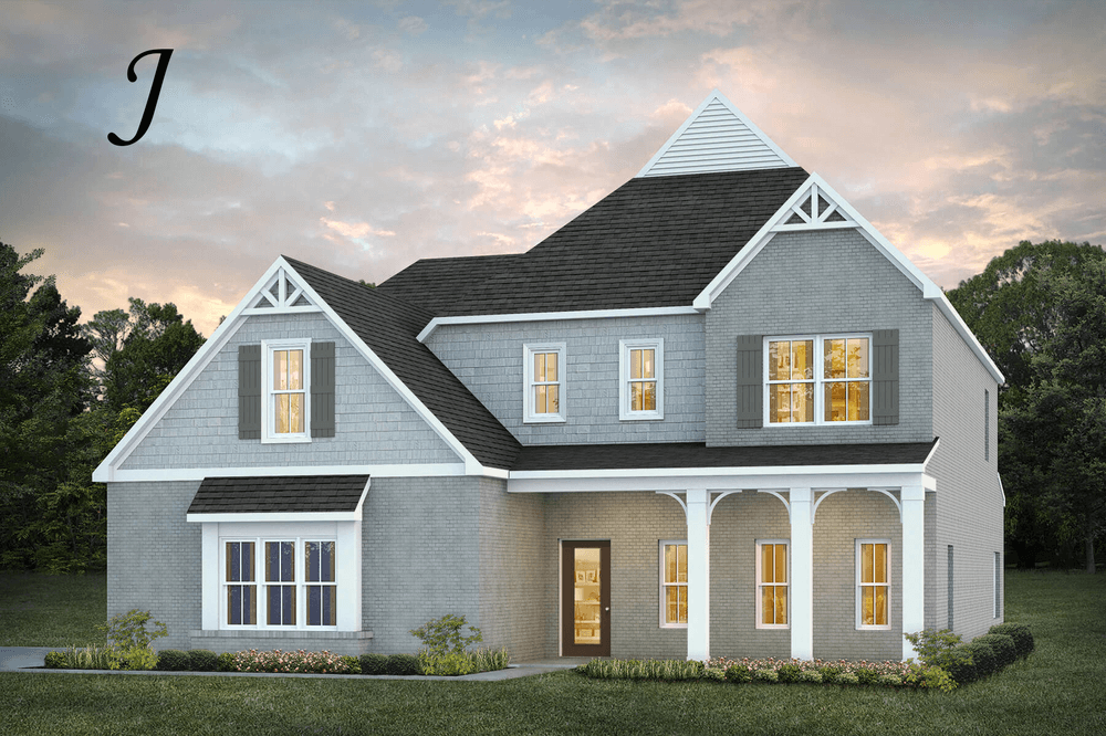 Exterior featured in the Sutherland By Stone Martin Builders in Montgomery, AL