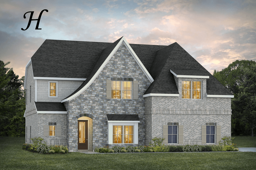Exterior featured in the Walden By Stone Martin Builders in Montgomery, AL