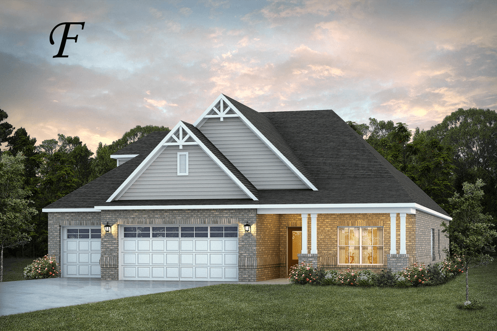 Exterior featured in the St James II By Stone Martin Builders in Huntsville, AL