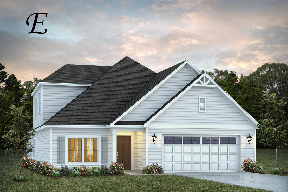 Exterior featured in the Rosewood By Stone Martin Builders in Dothan, AL