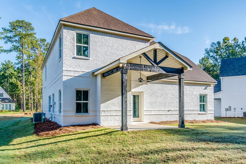 Exterior featured in the Sterling By Stone Martin Builders in Montgomery, AL