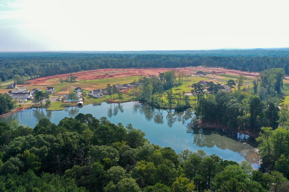 'Hidden Lakes' by Stone Martin Builders in Auburn-Opelika